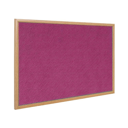 Pin board  with Fabric 布面壁佈板 ( Wooden Frame 木邊)
