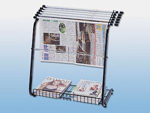 新聞書報架(附4支鋁報夾)(CYS-0302)