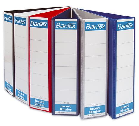 Bantex 2D-ring insert Binder 三面插頁文件夾
