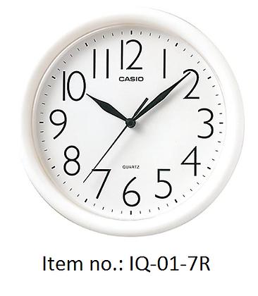 Casio Clocks 圓形掛牆鐘