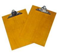 Wooden clip board A4 木製單板夾(B22)