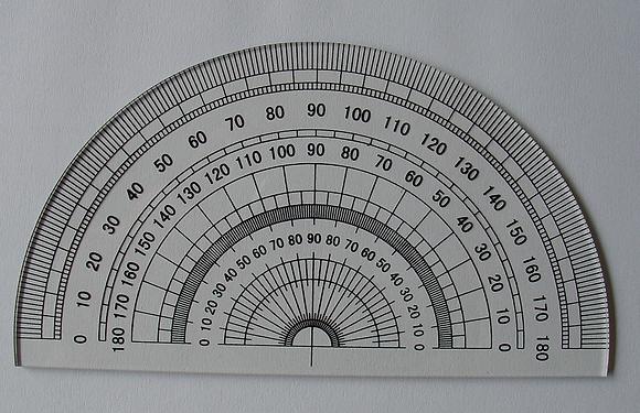 Protractor 半圓量角器 180度 (P-180)