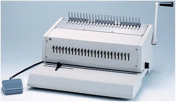 HIC HEPB-240 Electric Ring Binders 重型電動膠圈釘裝機 (F4)