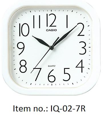 Casio Clocks 方形掛牆鐘