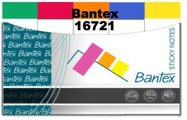 Bantex Sticky Notes 紙質長條形粉色旗仔