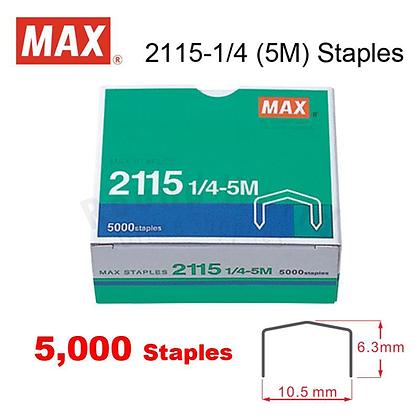 Max 2115-1/4  STAPLES 釘書針