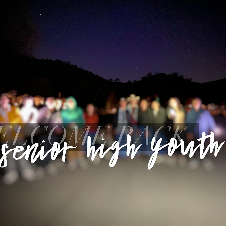 Wednesday Night Youth (9-12 Grade)