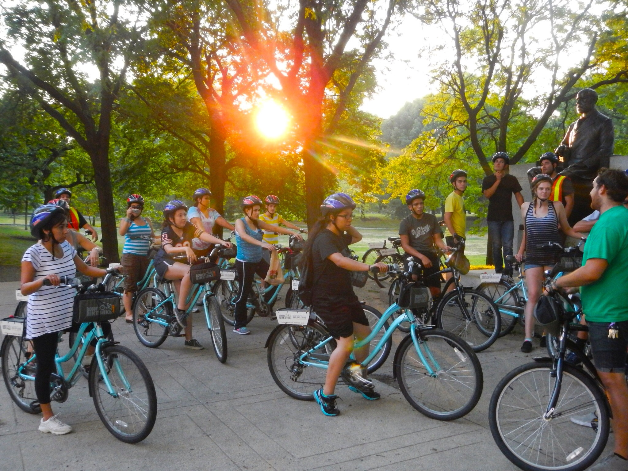 Suset Bike Hike in Chicago, IL