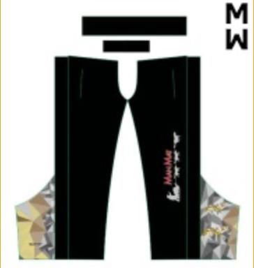 Pantalon zipper Manmat