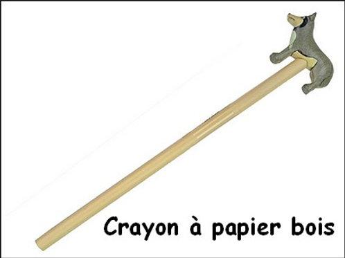 Crayon papier bois husky