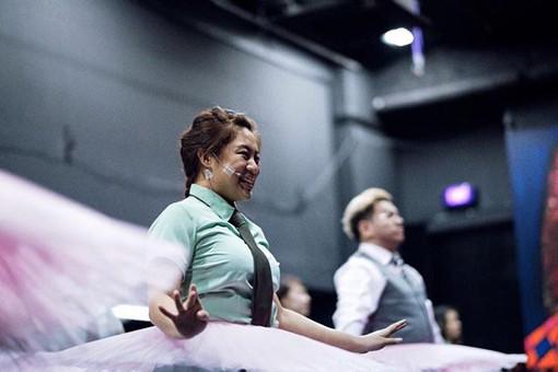 In rehearsal for 'Detention Katong'