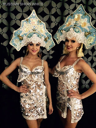 Russian Show - White - عرض الرقص الروسي - وايت