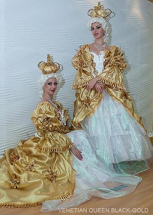 Venetian Queen White/Gold - ملكة البندقية أبيض / ذهبي