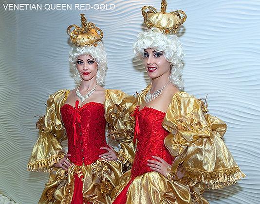 Venetian Queen Red/Gold - ملكة البندقية - الأحمر / الذهب