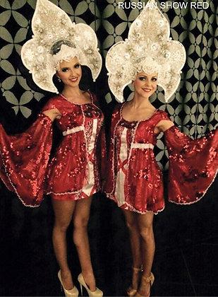 Russian Show - Red - عرض الرقص الروسي - الأحمر