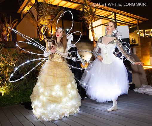 LED Ballet Long Dress - فستان باليه طويل