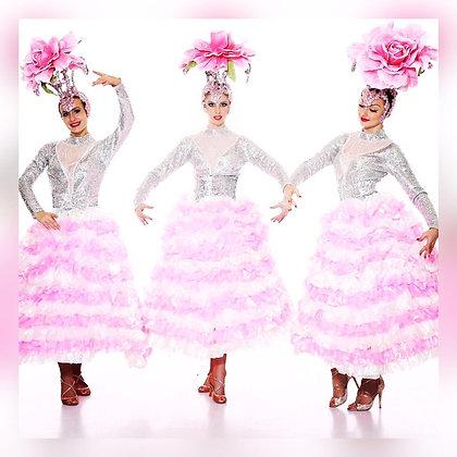 Flower Lady Pink - زهرة سيدة الوردي