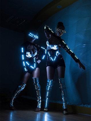 LED Disco Robots - الصمام ديسكو الروبوتات