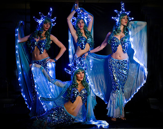 LED Mermaid Show - حورية البحر LED الرقص المعرض