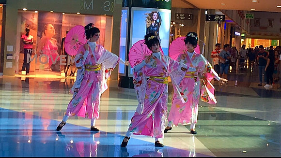 Chinese-Japanese Dance - الرقص الصيني الياباني