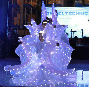 LED Butterfly Show - عرض الفراشة LED