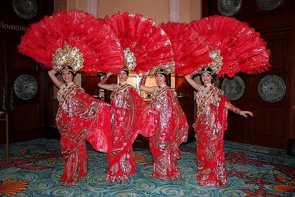 INDIAN - RED SHOW - الهندي - تظهر التايلاندية