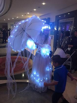LED Jellyfish Show - قناديل البحر