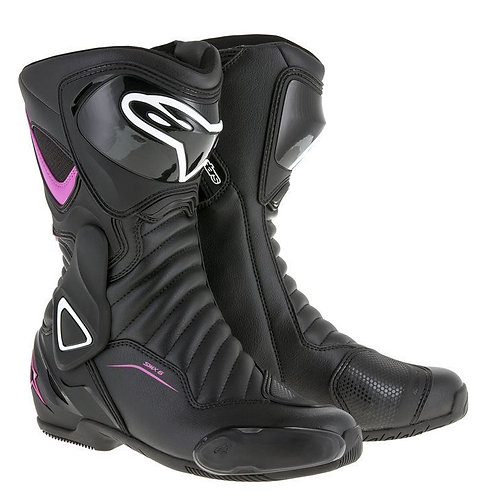 Alpinestars Stella SMX-6 V2 Boots Black/Fushsia