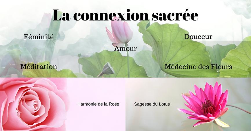 Harmonie de la Rose et Sagesse du Lotus.