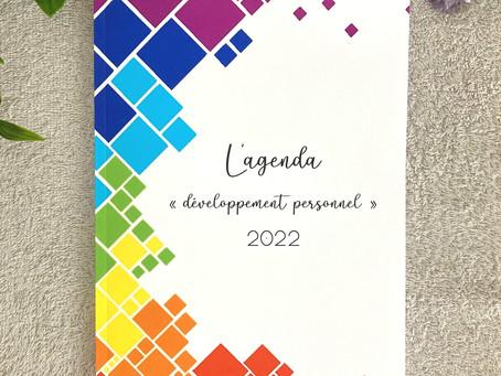 """L'agenda """"développement personnel"""" 2022 :"""