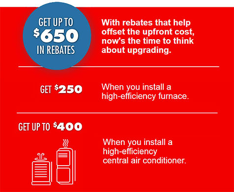 Rebates OPA Furnace rent to own