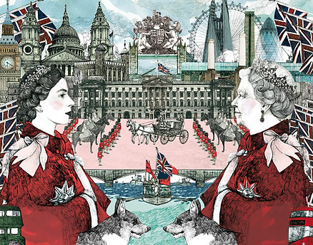 Illustration for l'Express - Special London issue