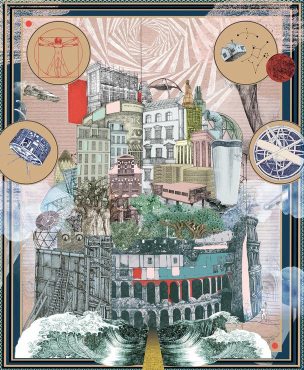Illustration for Le1Hebdo - Utopia
