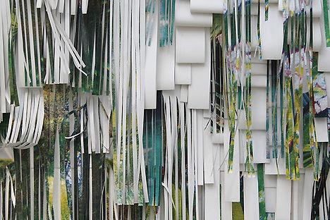 Installation for textile designer Suzanne Goodwin