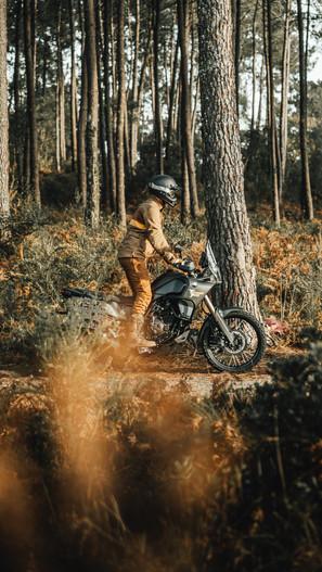 Shooting Fuel motorcycle Brand