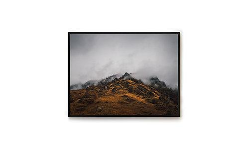 Montagnes et Brume