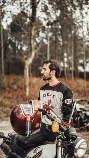 Off Road moto shooting