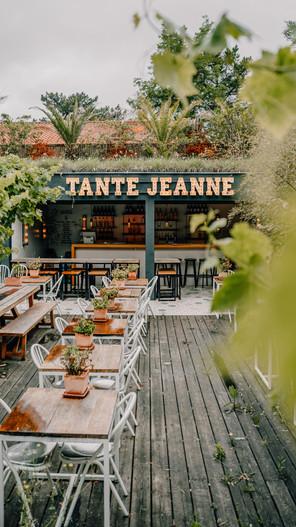 Restaurant Tante Jeanne Hossegor