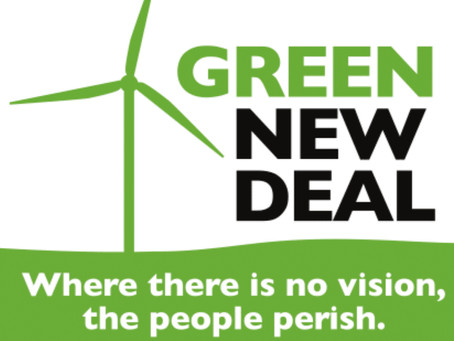 HOW TO PREACH on the Green New Deal