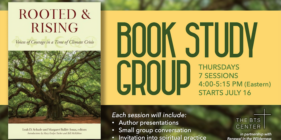 Online Book Study: Rooted and Rising - Voices of Courage in a Time of Climate Crisis