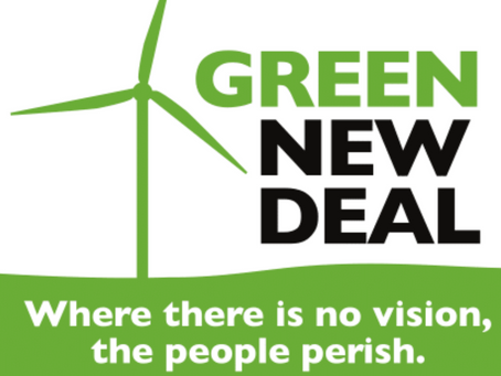Press Coverage of UCC's Endorsement of Green New Deal