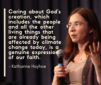 Hosting Katharine Hayhoe: from climate crisis to moral imperative