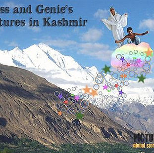 Princess and Genie's adventures in Kashm