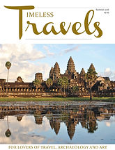 Timeless Travels - travel archaeology art magazine