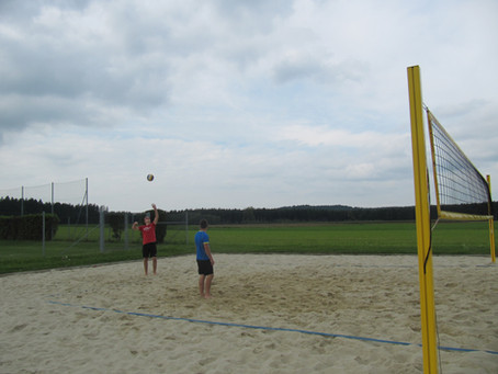 1. Internes Beachvolleyballturnier des SVM-Sektion Volleyball