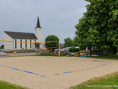 1. Beach und Rasenvolleyballturnier der Sektion Volleyball