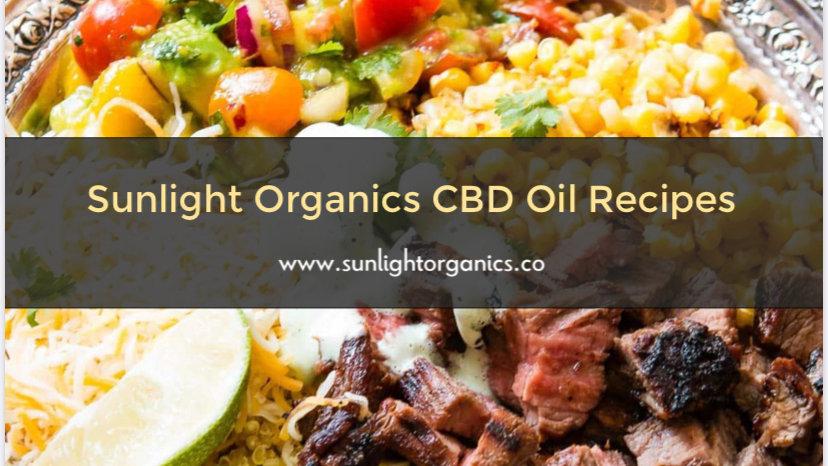 Sunlight Organics CBD Recipes Vol. 1