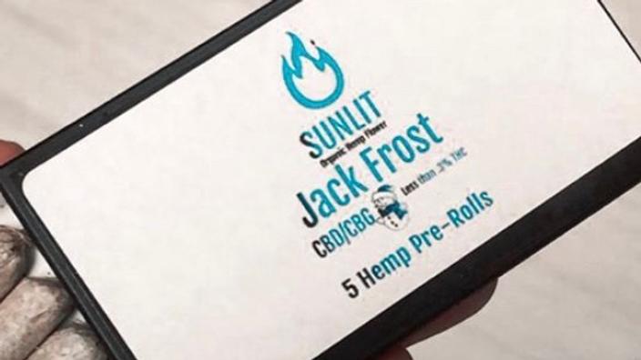 Sunlit CBD/CBG Pre Roll Jack Frost