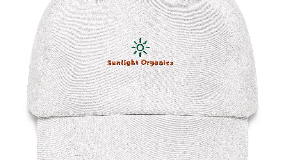 Sunlight Organics White Classic Dad Hat