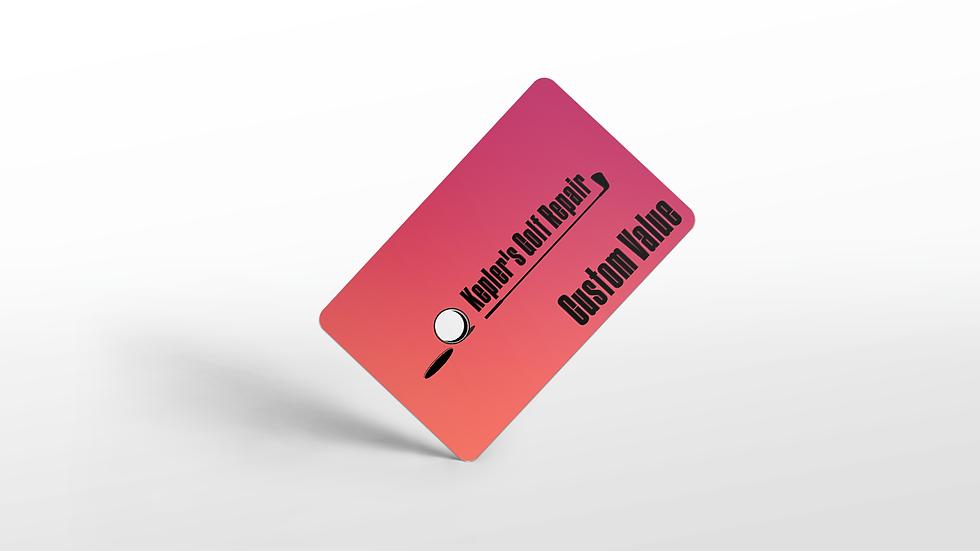 Kepler's Gift Cards: Custom Value
